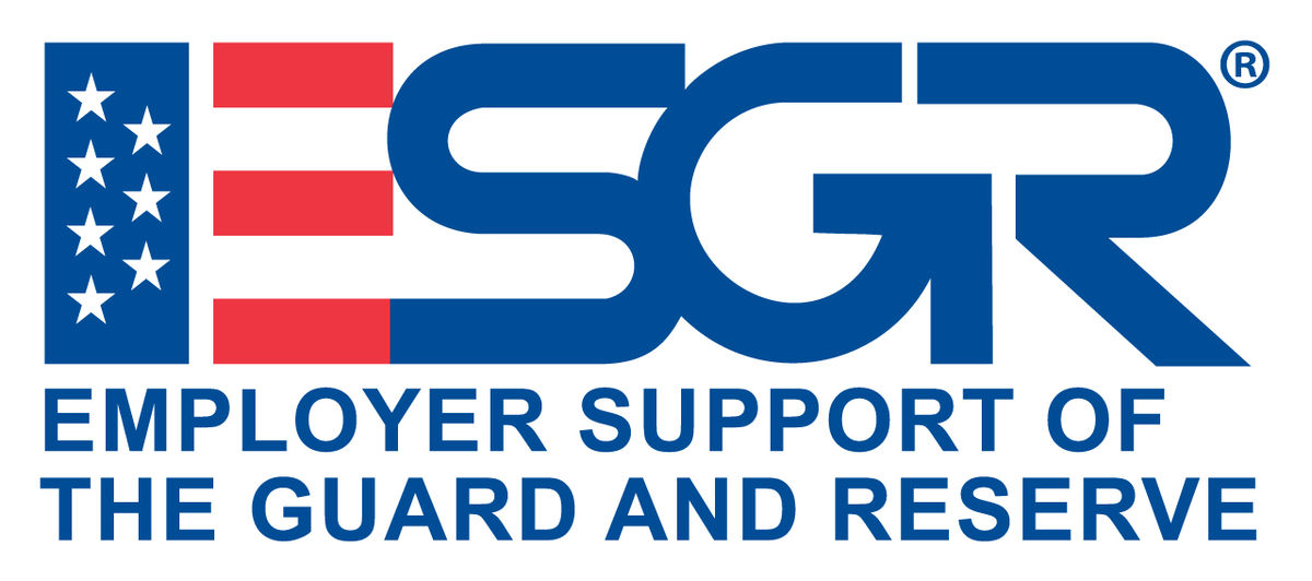 ESGR Employer support of the guard and reserve