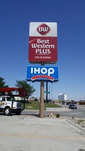 BW Plus & IHOP Pylon